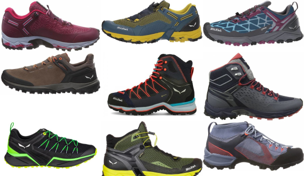 buy salewa hiking shoes for men and women