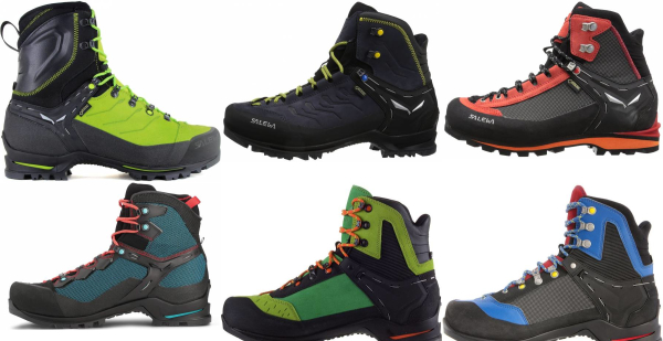 buy salewa leather mountaineering boots for men and women