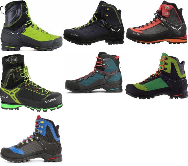 buy salewa waterproof mountaineering boots for men and women