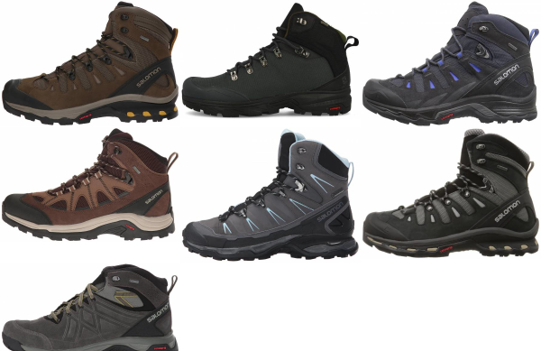 buy salomon backpacking boots for men and women