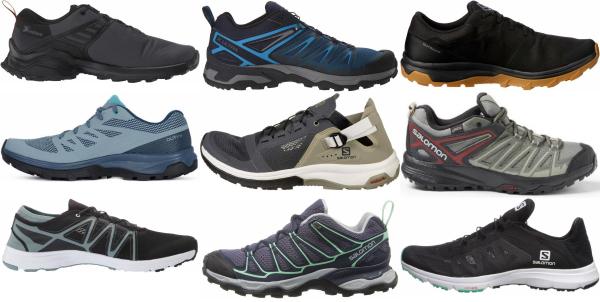 buy salomon cheap hiking shoes for men and women