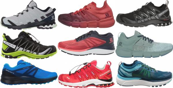 buy salomon flat feet running shoes for men and women