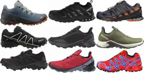 buy salomon gore-tex running shoes for men and women