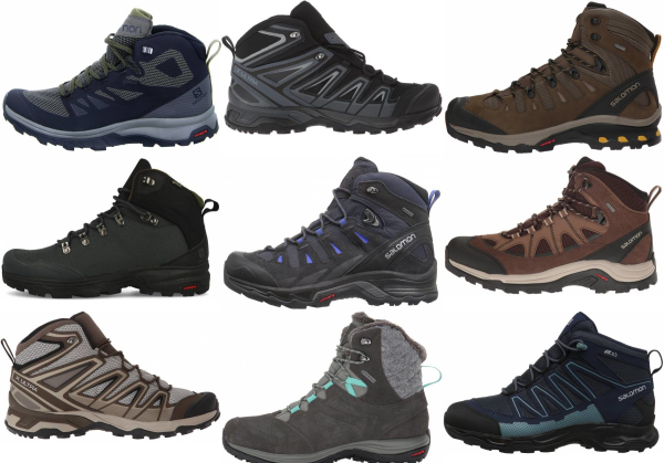 buy salomon hiking boots for men and women