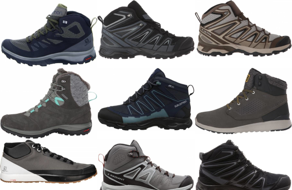 buy salomon lightweight hiking boots for men and women