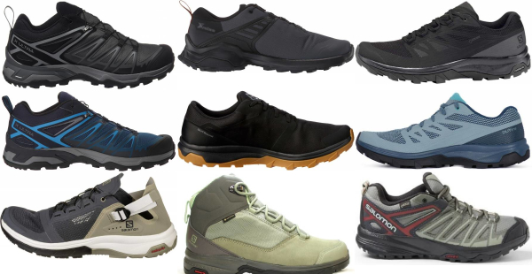 buy salomon lightweight hiking shoes for men and women