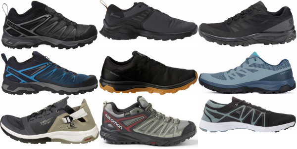 buy salomon low cut hiking shoes for men and women