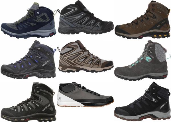 buy salomon ortholite hiking boots for men and women