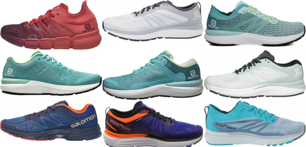 buy salomon road running shoes for men and women
