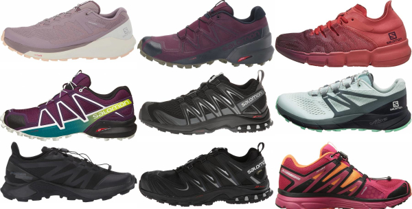 buy salomon running shoes for men and women