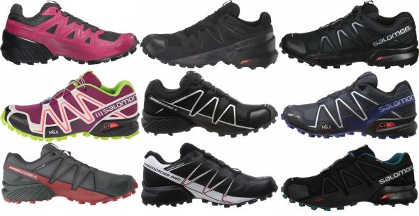buy salomon speedcross running shoes for men and women