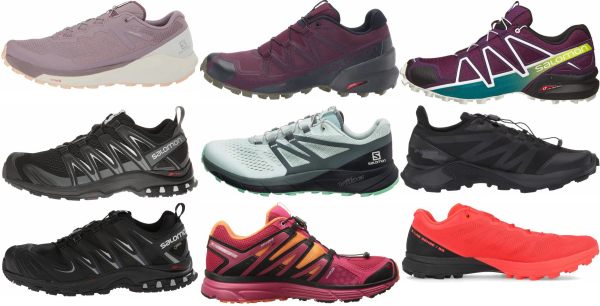 buy salomon trail running shoes for men and women