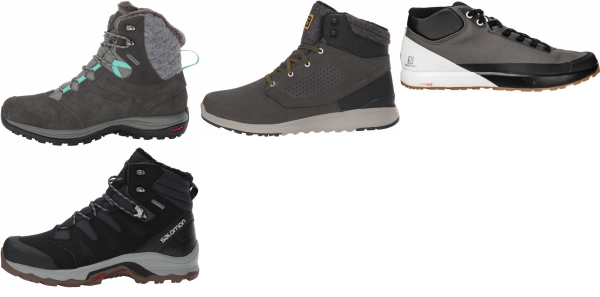buy salomon winter hiking boots for men and women