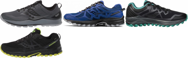 buy saucony gore-tex running shoes for men and women