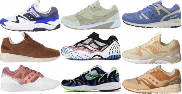 buy saucony grid sneakers for men and women