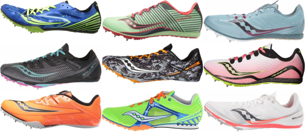 buy saucony mid distance track & field shoes for men and women