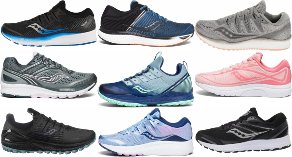 buy saucony neutral running shoes for men and women