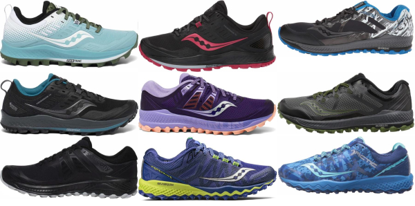 buy saucony peregrine running shoes for men and women