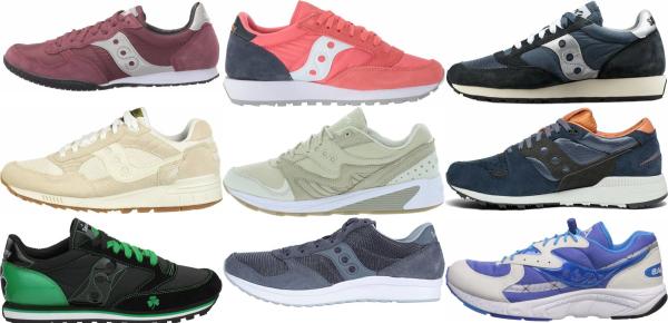 buy saucony suede sneakers for men and women