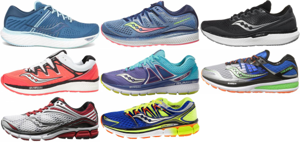 buy saucony triumph running shoes for men and women