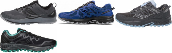 buy saucony waterproof running shoes for men and women