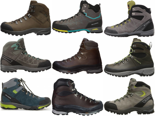 buy scarpa backpacking boots for men and women
