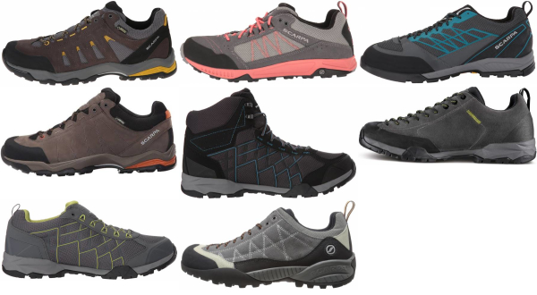 buy scarpa lightweight hiking shoes for men and women