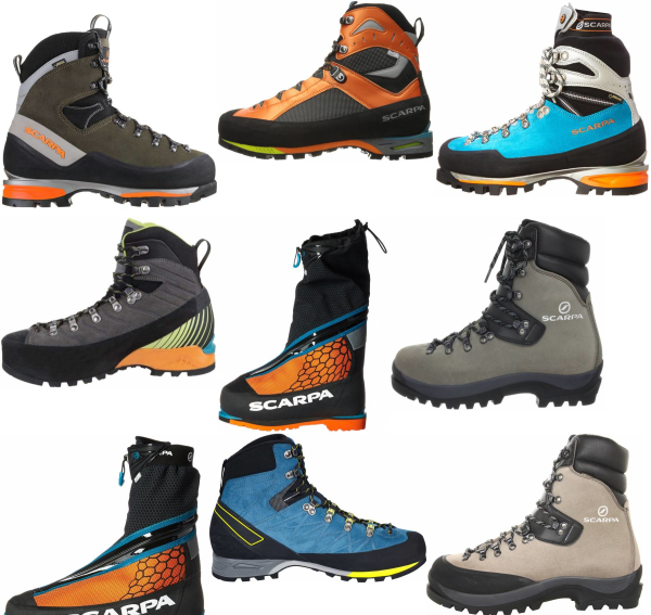 buy scarpa mountaineering boots for men and women