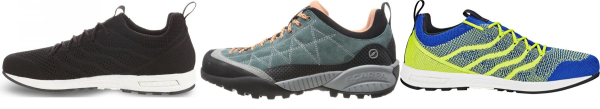 buy scarpa tongue pull loop approach shoes for men and women
