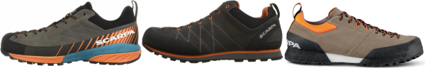 buy scarpa water resistant approach shoes for men and women