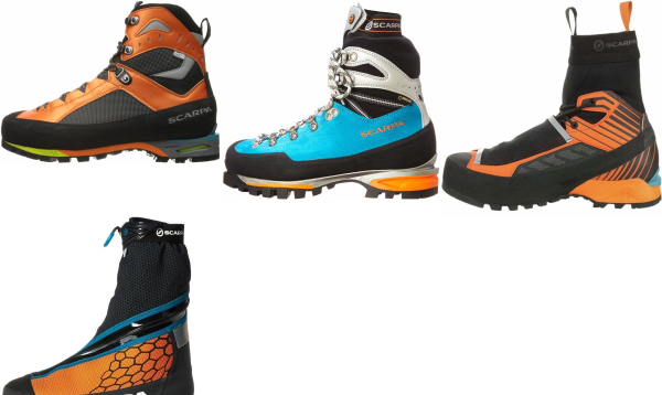 buy scarpa winter mountaineering boots for men and women