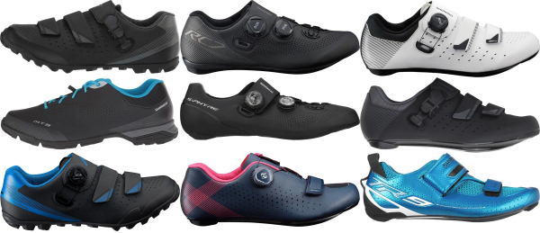 buy shimano cycling shoes for men and women