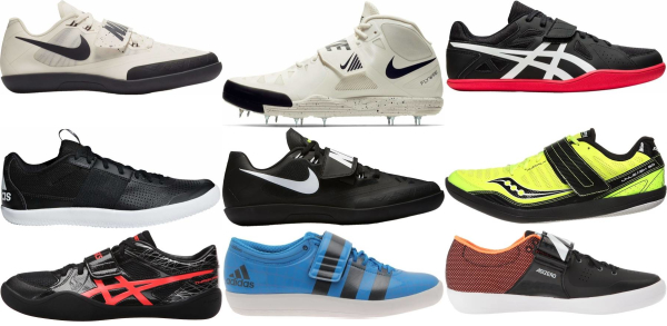 buy shot put track & field shoes for men and women