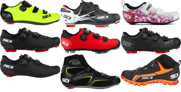 buy sidi heel cup cycling shoes for men and women