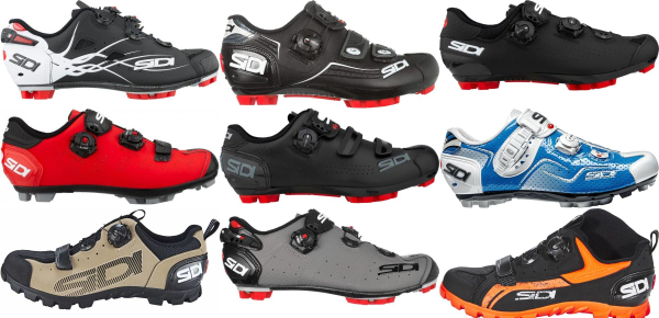 buy sidi mountain cycling shoes for men and women