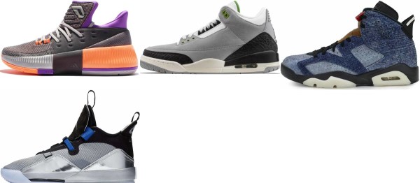 buy silver mid basketball shoes for men and women