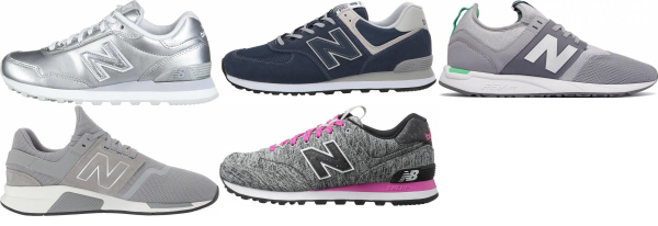 buy silver new balance sneakers for men and women