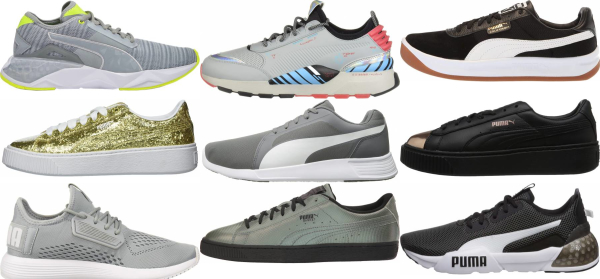 buy silver puma sneakers for men and women