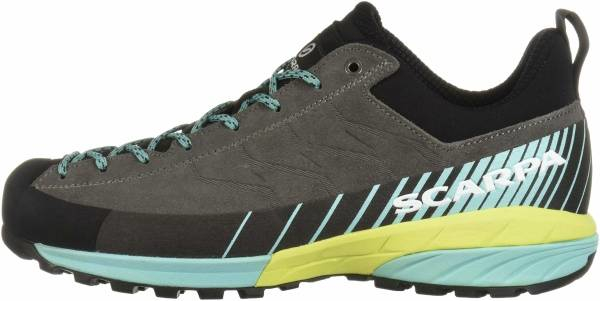 buy silver scarpa approach shoes for men and women
