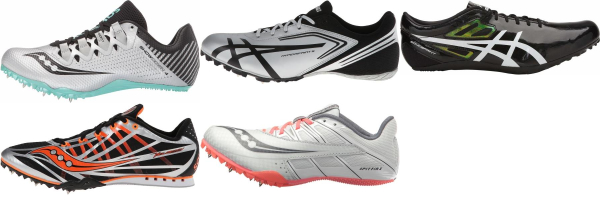buy silver track & field shoes for men and women