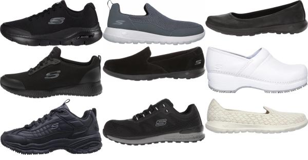 buy skechers concrete walking shoes for men and women