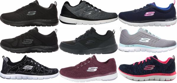 buy skechers flex training shoes for men and women