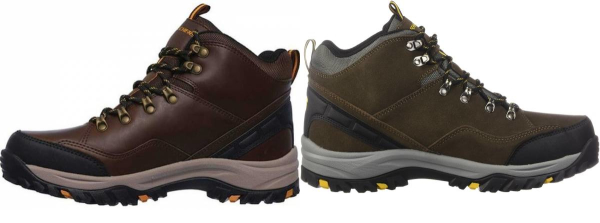 limpiador compañero Anónimo  Save 35% on Skechers Hiking Boots (2 Models in Stock) | RunRepeat
