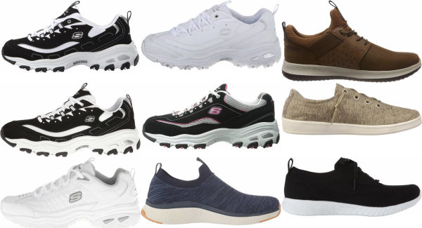 buy skechers low top sneakers for men and women