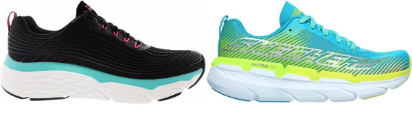 buy skechers max cushioning running shoes for men and women