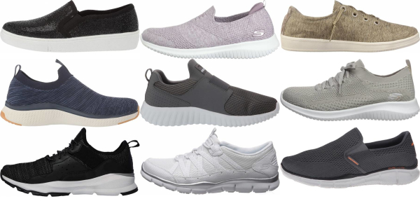 buy skechers slip-on sneakers for men and women