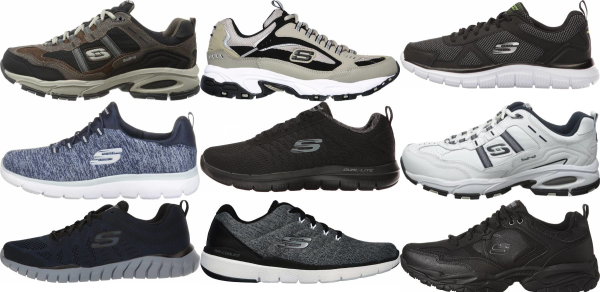 buy skechers wide training shoes for men and women