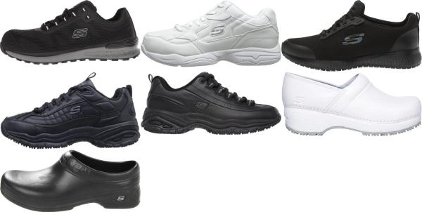 buy skechers work walking shoes for men and women