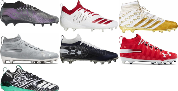 buy slip-on football cleats for men and women