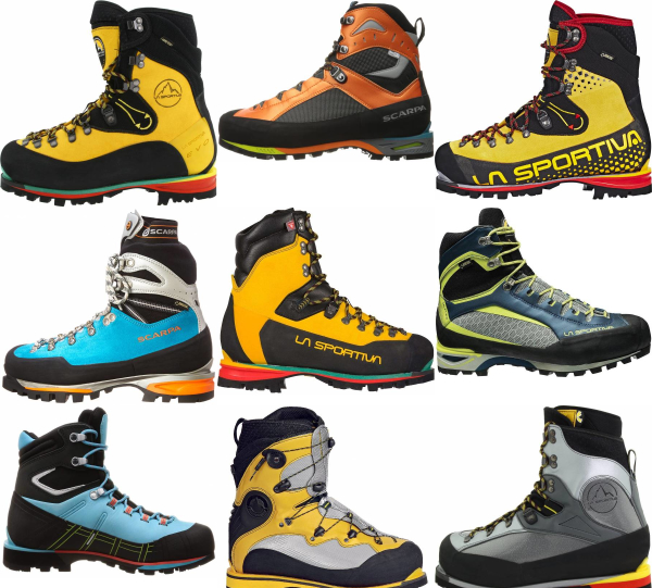 buy snow mountaineering boots for men and women